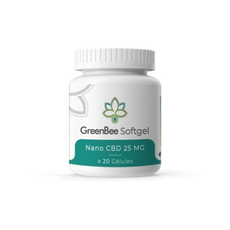 Gélules CBD - GreenBee - 500mg
