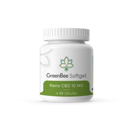 CBD capsules - GreenBee - 200mg
