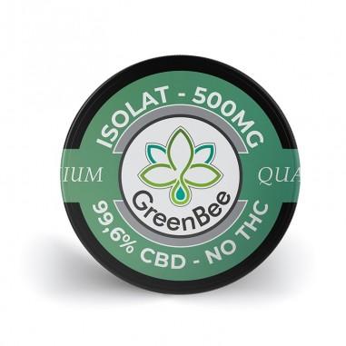 Isolat CBD pur 99.6% - GreenBee - 500mg