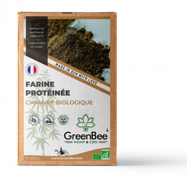 Farine de Chanvre biologique - GreenBee - 250g