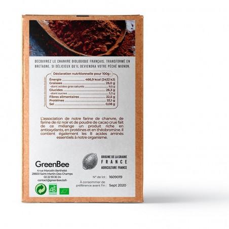 Mix protéiné cacao - GreenBee - 250g