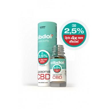 Huile CBD liposomale cibdol 2,5%