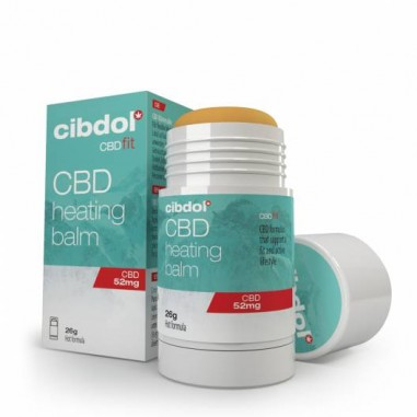 Baume chauffant CBD 5% – CIBDOL