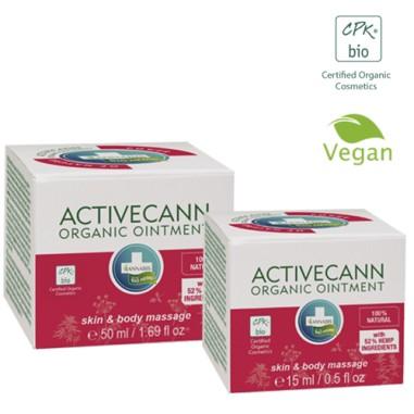 Activecann - Baume organique chanvre