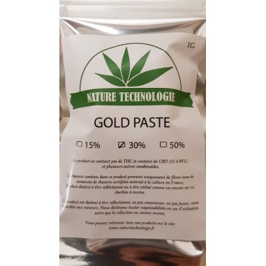 Solide Gold Paste CBD 30%