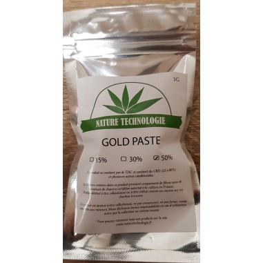 Solide Gold Paste CBD 50%