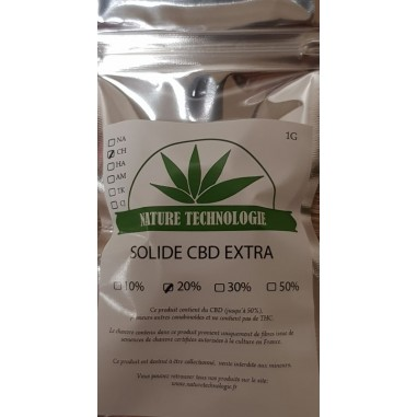 Solide Extra Cheese 20% CBD