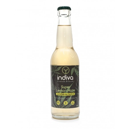 LIMONADES INDIVA TERPENES SUPER LEMON HAZE 33cl x12