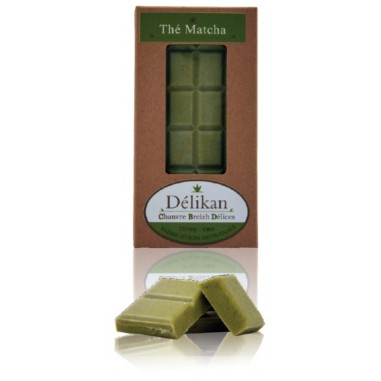Chocolat Bio Au Thé Matcha - Greenbee - 100g - CBD 50mg